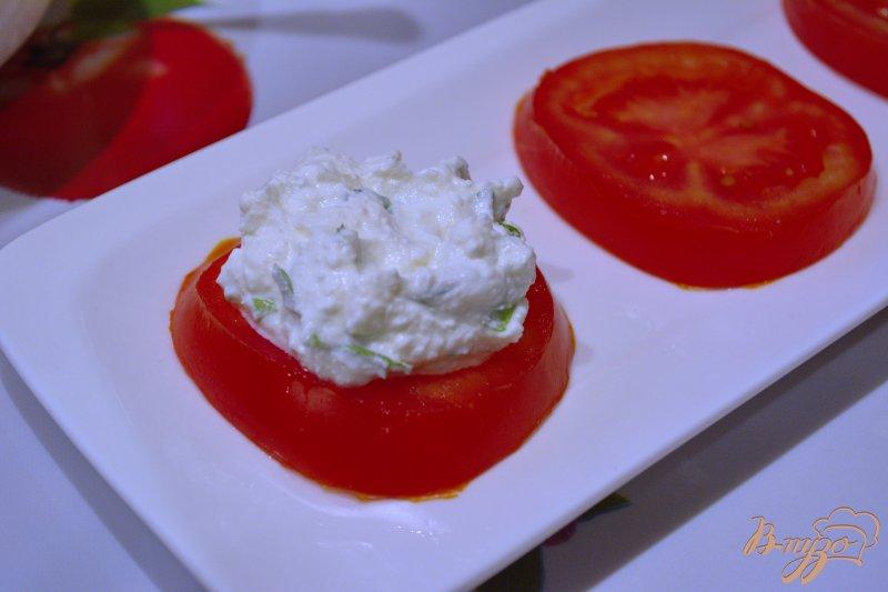 Фото приготовление рецепта: Помидорная закуска к обеду шаг №6