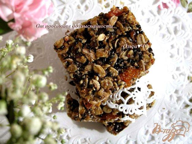 Рецепт Печенье-мюсли с черничным джемом