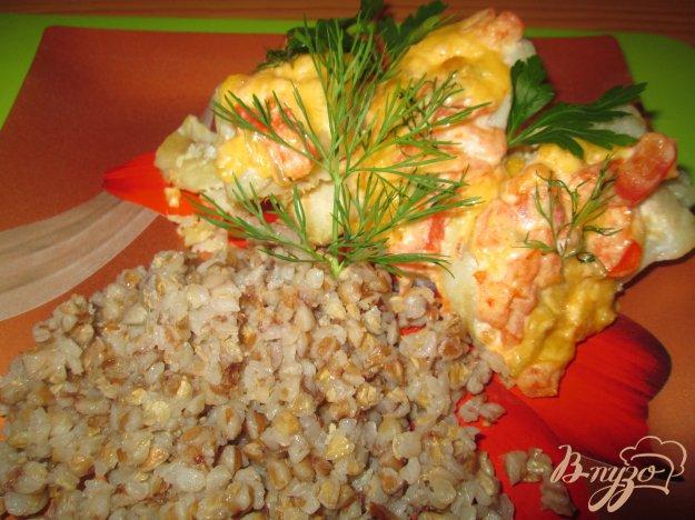 Рецепт Запеченный минтай под соусом