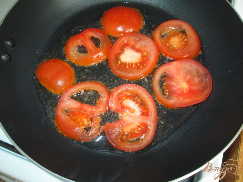Фото приготовление рецепта: Закуска из кабачков с помидорами шаг №1