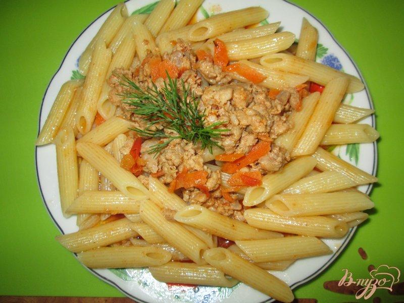 Фото приготовление рецепта: Паста а-ля болоньезе шаг №6
