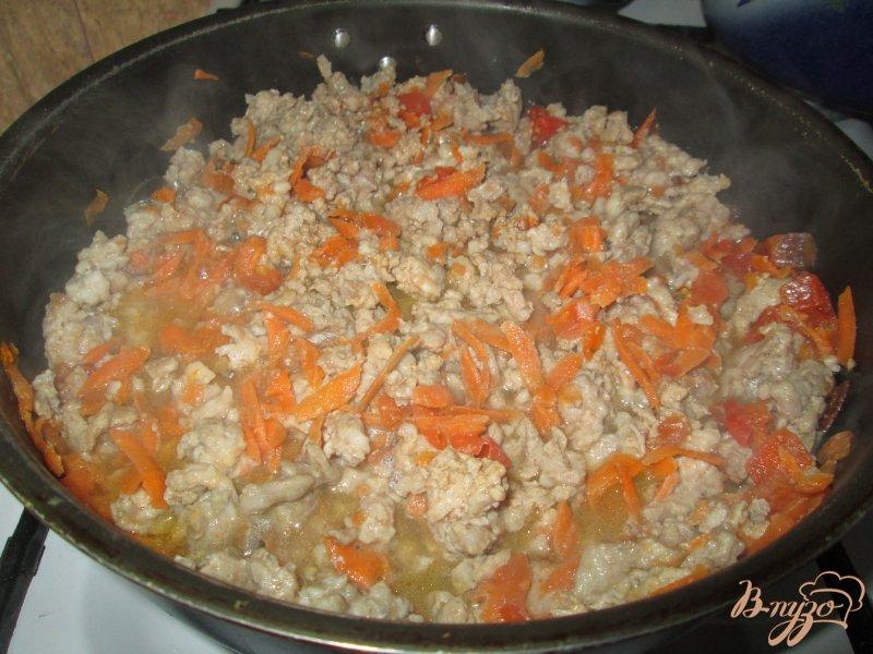 Фото приготовление рецепта: Паста а-ля болоньезе шаг №3