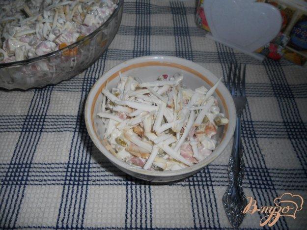 фото рецепта: Салат колбасный