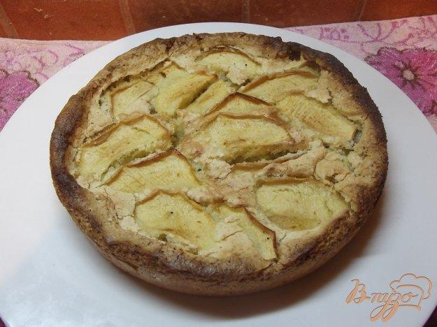 фото рецепта: Пирог с яблоками на растительном масле