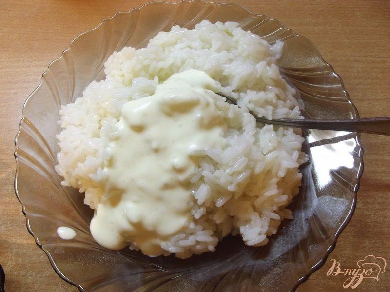 Фото приготовление рецепта: Рис с зеленым горошком шаг №2