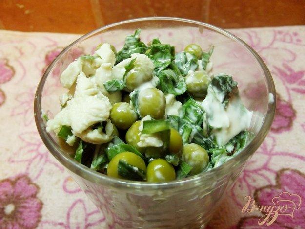 фото рецепта: Куриный салат с зеленью