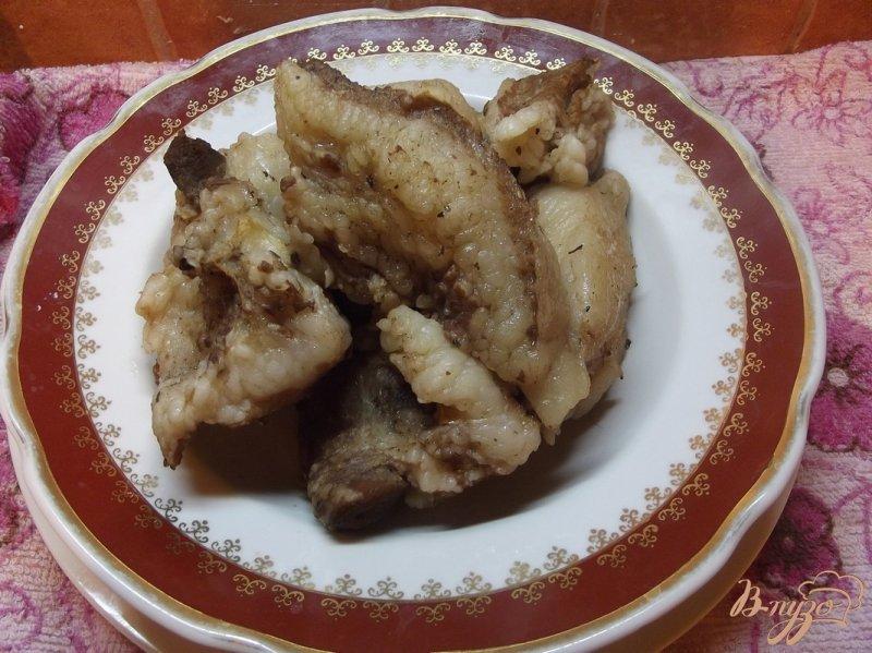 Фото приготовление рецепта: Сало закусочное вареное шаг №6