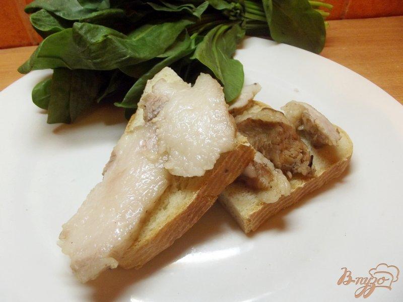 Фото приготовление рецепта: Сало закусочное вареное шаг №7