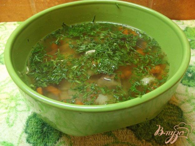 фото рецепта: Суп с белыми грибами и овощами