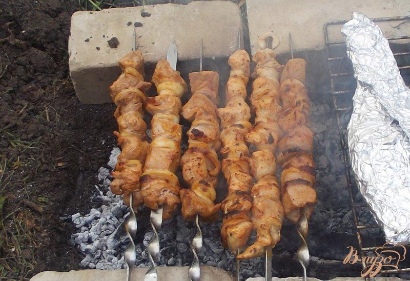Фото приготовление рецепта: Шашлык свиной по-студенчески шаг №7