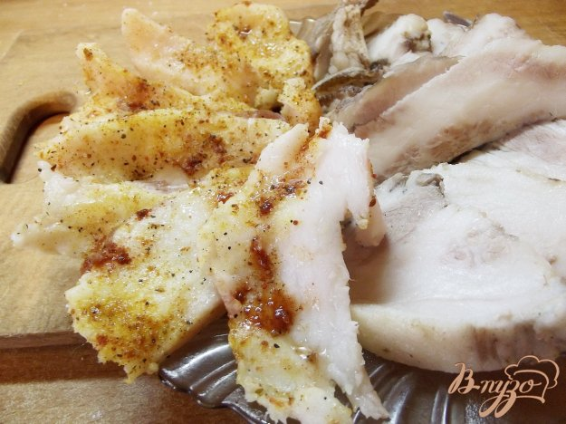 Рецепт Быстрое свиное сало на закуску