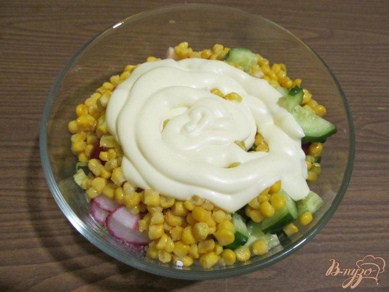 Фото приготовление рецепта: Салат весенний шаг №3