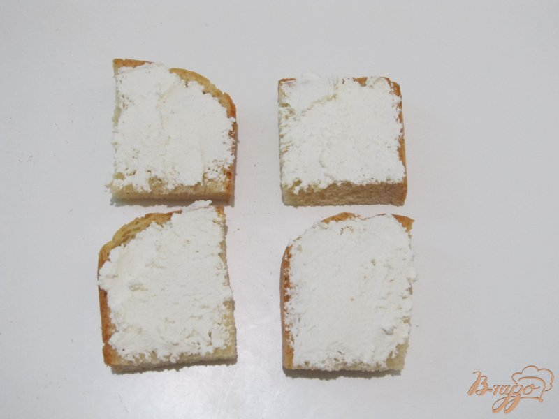 Фото приготовление рецепта: Кростини с сыром и свеклой шаг №3