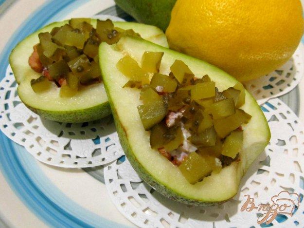 фото рецепта: Салат из груши с орехами