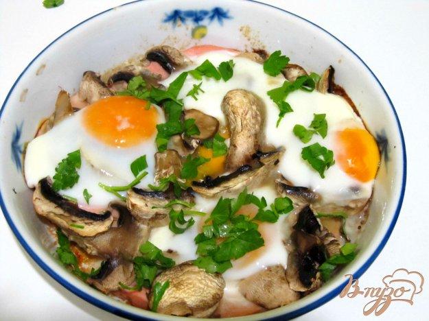 Рецепт Яичница в духовке