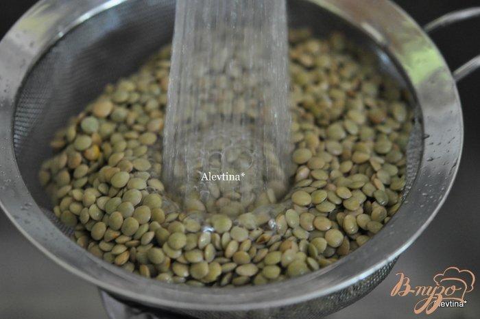 Фото приготовление рецепта: Суп из чечевицы с говядиной шаг №4