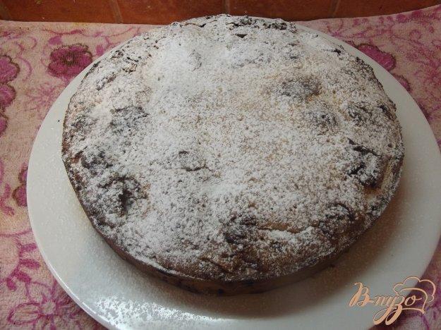 Рецепт Пирог с вишней и белым шоколадом