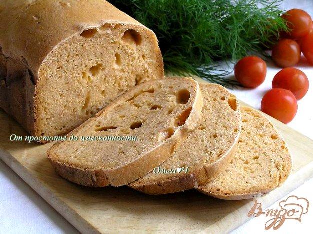 Рецепт Томатный хлеб с отрубями