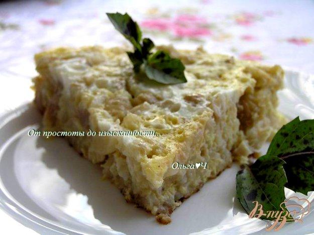 Рецепт Фриттата с курицей, рисом и капустой (в мультиварке)