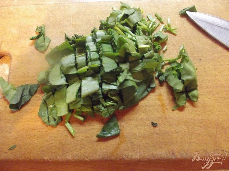 Фото приготовление рецепта: Суп куриный с щавлем шаг №2