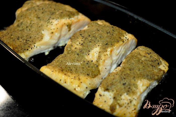 Фото приготовление рецепта: Cемга с лимонным маслом шаг №3