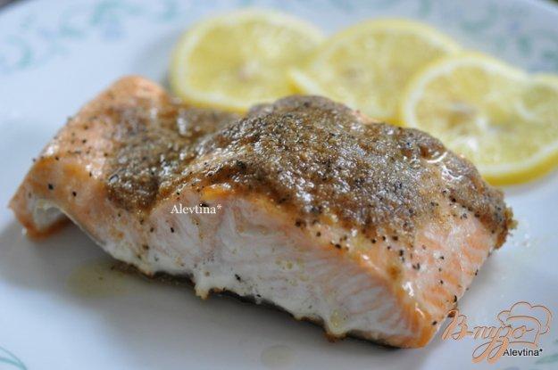 Рецепт Cемга с лимонным маслом