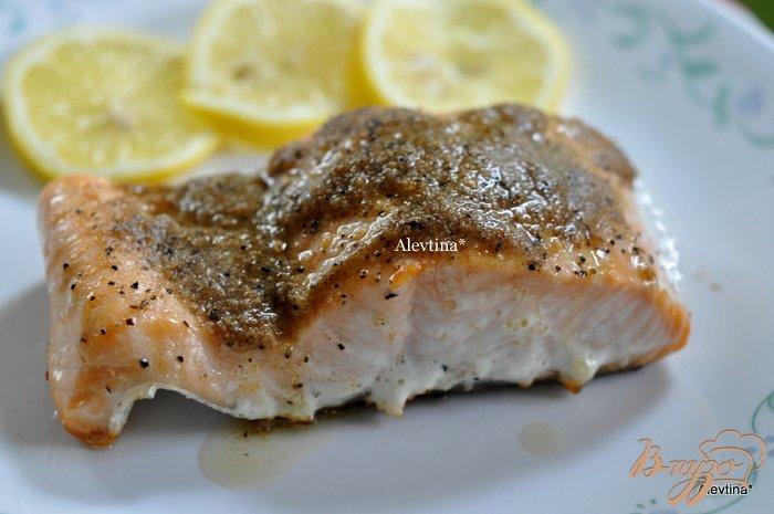 Фото приготовление рецепта: Cемга с лимонным маслом шаг №4