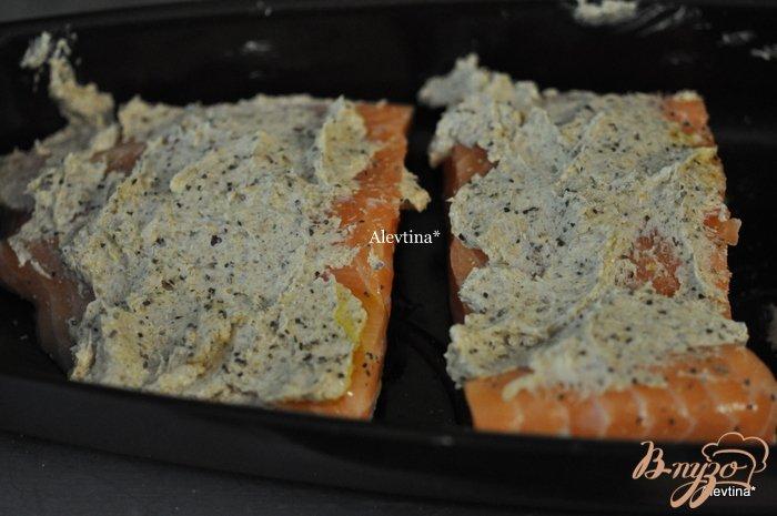 Фото приготовление рецепта: Cемга с лимонным маслом шаг №2