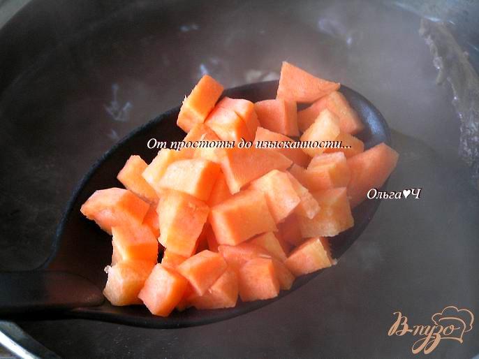 Фото приготовление рецепта: Сливочный суп из утки с рисом Рубин шаг №4