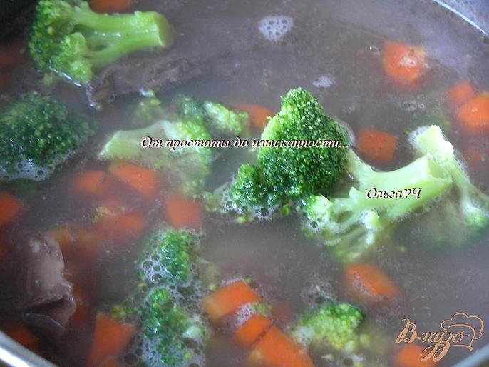 Фото приготовление рецепта: Сливочный суп из утки с рисом Рубин шаг №5