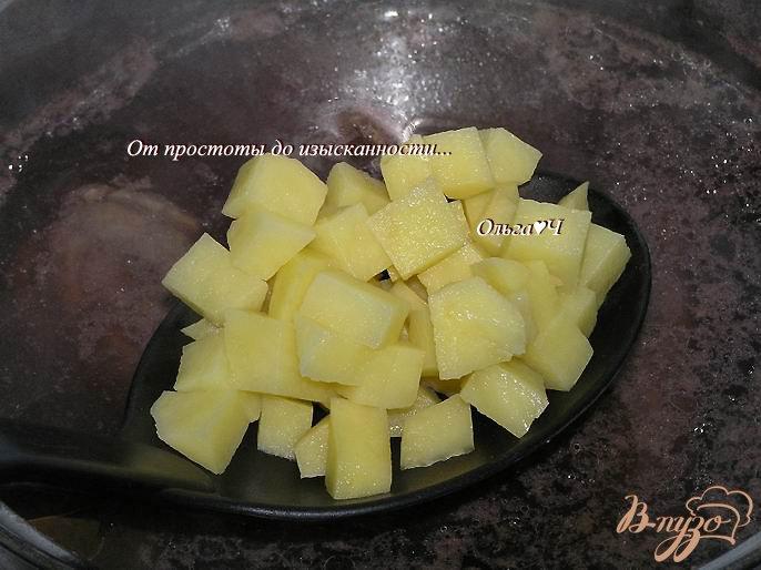 Фото приготовление рецепта: Сливочный суп из утки с рисом Рубин шаг №3