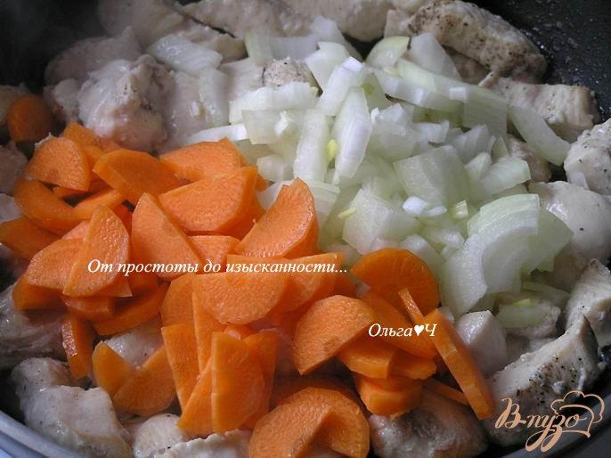 Фото приготовление рецепта: Куриное пюре с овощами для самых маленьких шаг №1