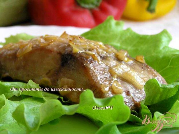 Рецепт Белый амур в чесночно-луковом маринаде