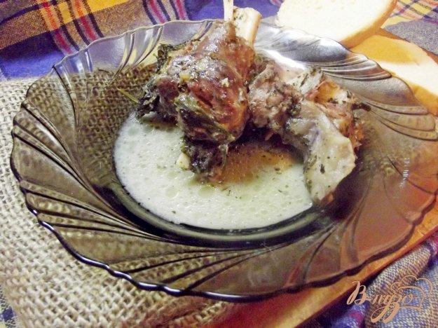 Рецепт Баран тушеный с сельдереем