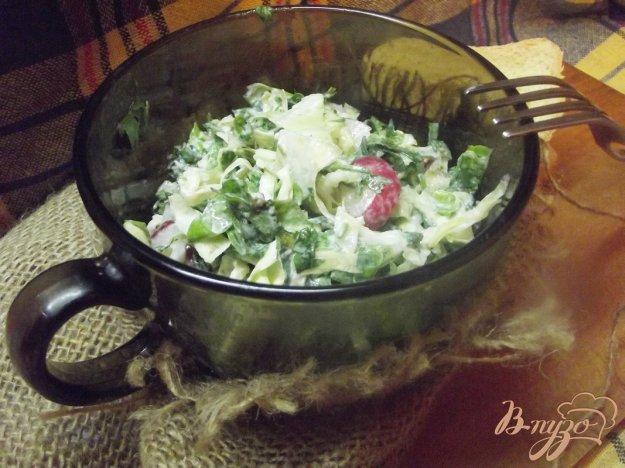 Рецепт Салат с крапивой