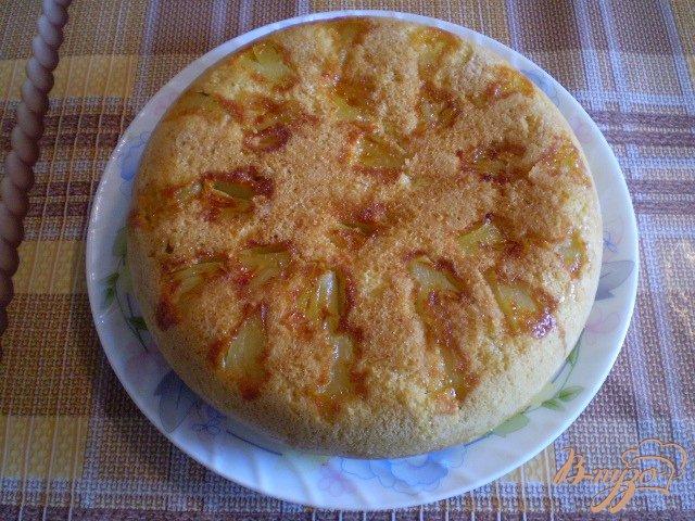 Фото приготовление рецепта: Ананасовый пирог шаг №10
