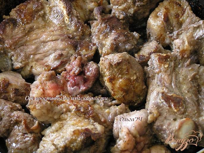 Фото приготовление рецепта: Свинина с рисом и овощами (в мультиварке) шаг №2