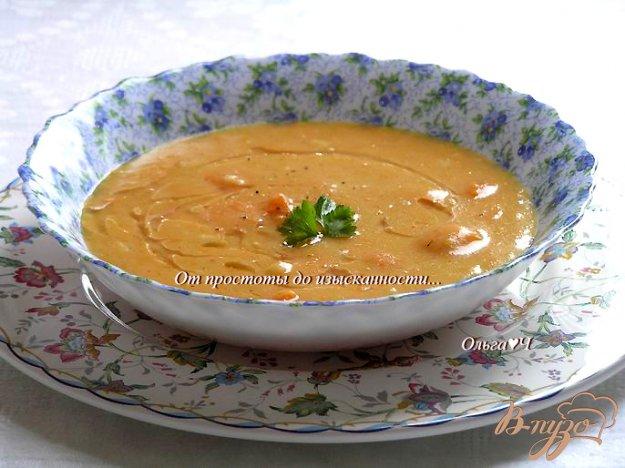 фото рецепта: Тыквенный суп с апельсиновым соком