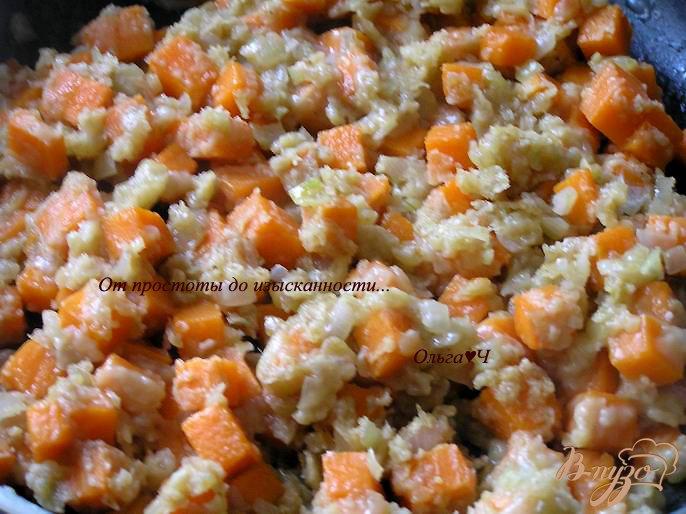 Фото приготовление рецепта: Тыквенный суп с апельсиновым соком шаг №3