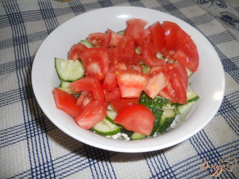 Фото приготовление рецепта: Весенний салатик шаг №4
