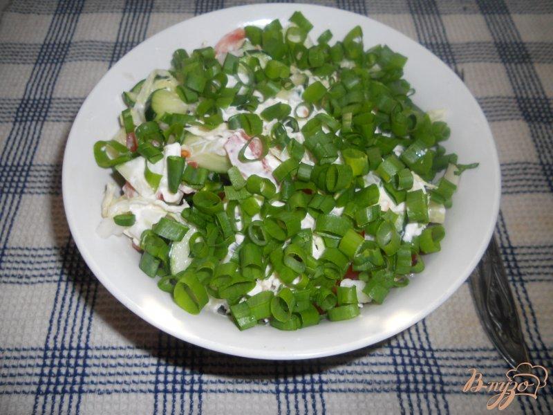 Фото приготовление рецепта: Весенний салатик шаг №5