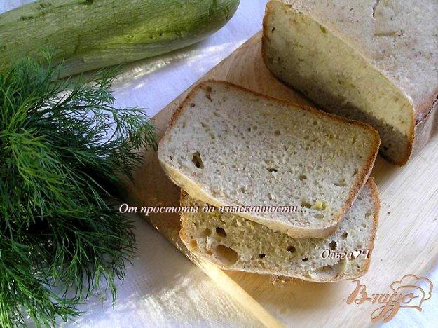 Рецепт Хлеб с кабачком и укропом
