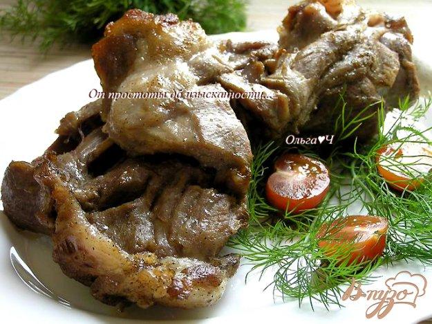 Рецепт Запеченная свиная лопатка