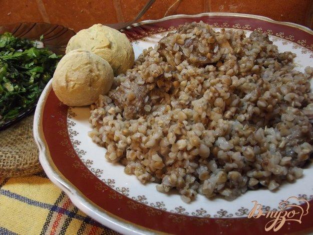 Рецепт Гречка на баранине