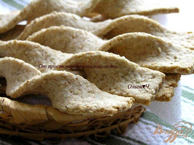 Рецепт Злаковые палочки-хлебцы