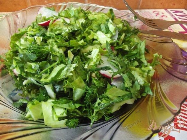 Рецепт Мятный салат с крапивой