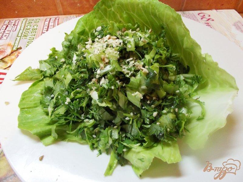 Салат кучерявый рецепт
