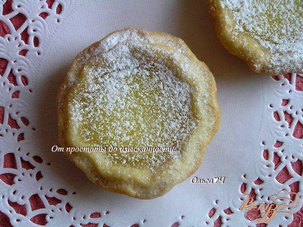 Рецепт Тарталетки с лимонным кремом