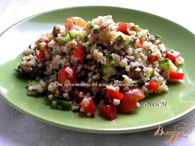 фото рецепта: Салат Табуле с тунцом