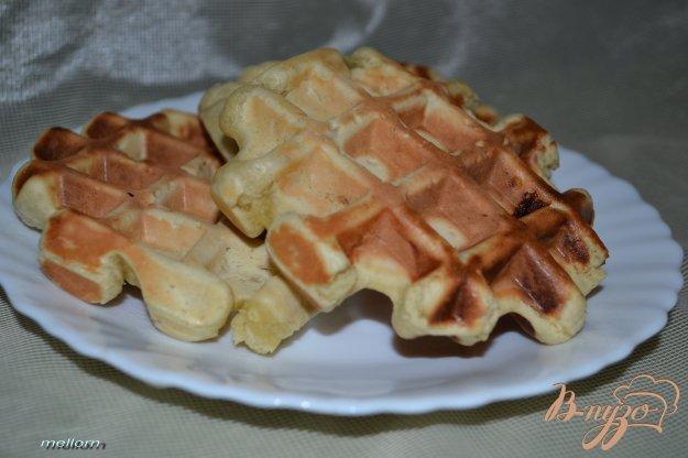 Рецепт Бананово-апельсиновые вафли